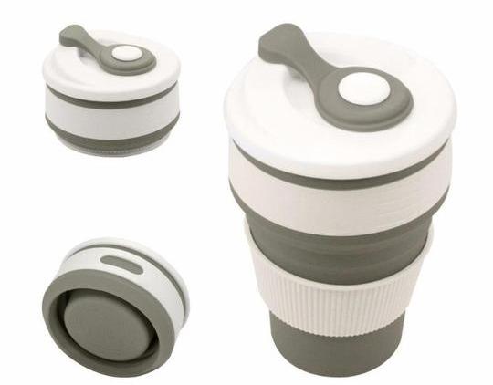 Nová - Skladací silikónový kávový hrnček b6b084d72ec