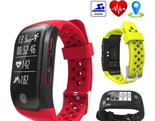 Vodeodolné (IP68) smart, GPS hodinky so špičkovými funkciami - 3 farby