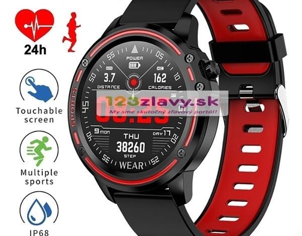 VV-Nová - Špičkové smart hodinky - meranie tlaku, srdcovej frekvencie, hladiny kyslíka v krvi... - 3 farby
