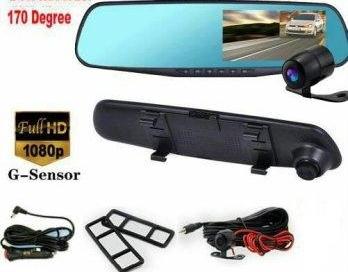 MARCOVÁ SUPERAKCIA - Zrkadlo s Full HD kamerou a zadnou cúvacou kamerou