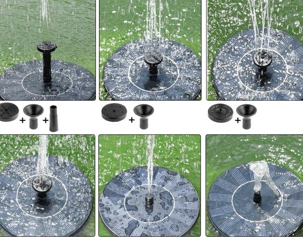 Nová - Solárna fontána